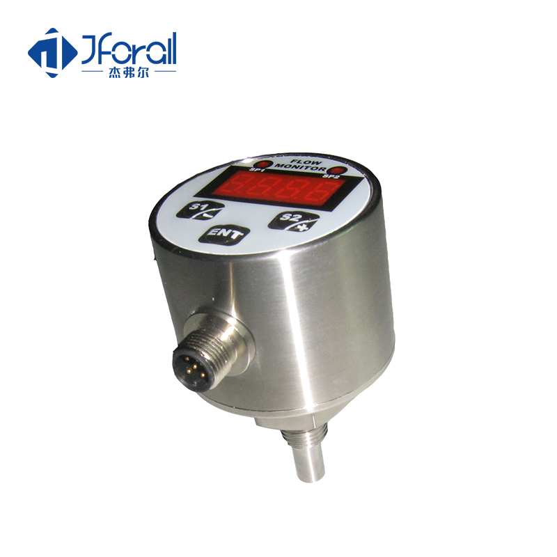 JFA412 water treatment temperature flow monitor switch with display