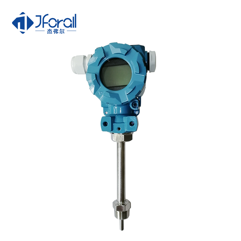 JFA611 Boiler oil temperature transmitter LCD display with thermowell
